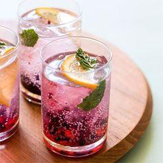 Blackberry Lemon Gin and Tonic | Cheers, Mofo!