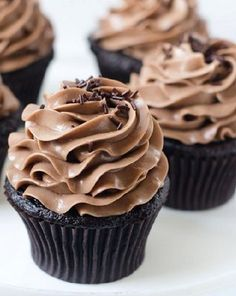 Nutella Bomb Cupcakes from  Cake Merchant