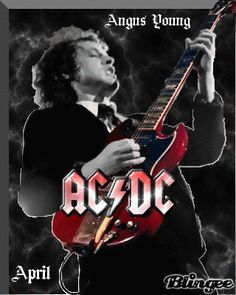 """AC/DC """" Angus Young """" by AMJ"""