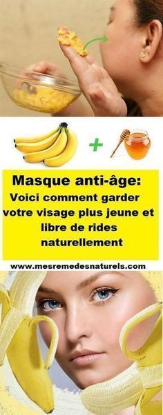 Masque anti-âge: Voici comment garder votre visage plus jeune et libre de rides naturellement Make Beauty, Beauty Box, Masque Anti Ride, Vegan Beauty, Body Care, Anti Aging, Beauty Hacks, Beauty Tips, Health Fitness