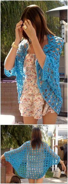 I have rounded up some of the adorable and stunning free crochet cardigan patterns for your inspiration!Crochet Shrug Free Pattern