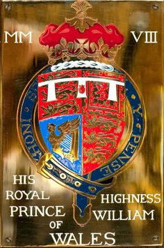 Prince William's Stall Plate in St George's Chapel