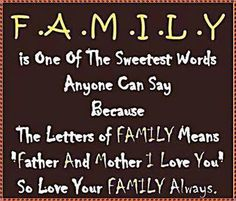 "We never knew that the word ""family"" was an acronym! www.boptillyoudrop.com.au"