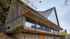 Horská chalupa: Stavení v Jizerských horách získalo díky architektům vznešenost
