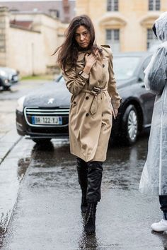 Street style from Paris fashion week autumn/winter '16/'17