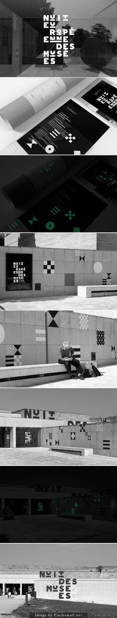 Nuit Européenne des Musées 2014 by Murmure #webdesign #responsive #css #graphic #design