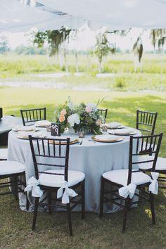 MYRTLE BEACH WEDDINGS - Litchfield Plantation Wedding in Pawleys Island, SC by Gigi Noelle Events, Alixann Loosle Photography, Corina Silva Decor and Croissant Bistro and Bakery