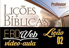 Vídeo-aula sobre a lição 02: Sinais que Antecedem a Volta de Cristo, apresentada pelo Prof. Jeferson Batista, no canal Professores em Cristo.