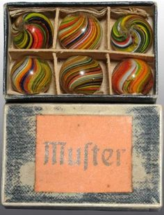 Handmade Marble Box from Germany