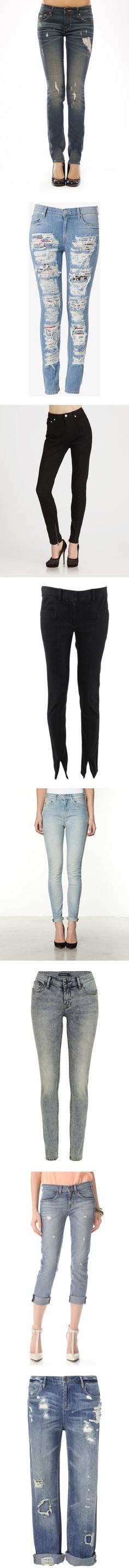 """""""The Next Big Jean Trends, Straight From the Denim Capital"""" by polyvore ❤ liked on Polyvore"""