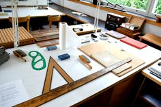 Alvar Aaalto's drafting table