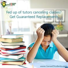 Students failing in some subjects just need anunderstanding tutor who can make the subject interesting. If you are tired of failing in a given subject, try our #Private #Tuition in Mumbai service. We specialize in one-on-one coaching service.  http://www.genextstudents.com/Tutors/