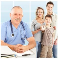 Photo about Smiling family medical doctor and young family. Over blue background. Image of occupation, happiness, medical - 12177312 Free Cna Training, Holistic Approach To Health, Certified Nurse, Learning Methods, Nursing Assistant, Urgent Care, Hormonal Changes, Young Family, Kids Health
