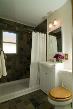 1000 Images About Small Bathroom Makeovers On Pinterest