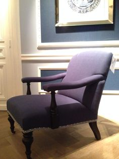 Blue Eichholtz chair