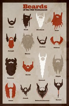 Beards of the Old Testament