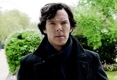 Pin for Later: Don't Lie — You're Still Obsessed With Benedict Cumberbatch as Sherlock His Hair Is Always Perfectly Tousled