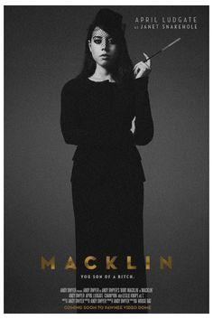 April Ludgate in Macklin.