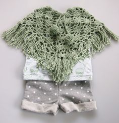 Organic Cotton Baby Poncho by fablebaby
