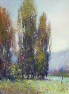 Richard McKinley - Eucalypts Aglow