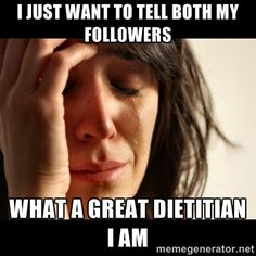 Off Duty Dietitian - Why dietitians suck at social media - code of ethics.