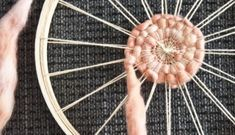 Weaving Lessons || How to Use an Embroidery Hoop as a Loom