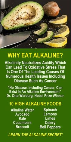 WHY EAT ALKALINE? No disease, including cancer, can exist in an alkaline environment, Dr. Otto Warburg, Nobel Prize Winner. Learn about alkaline rich Kangen Water; the hydrogen rich, antioxidant loaded, ionized water that neutralizes free radicals that cause oxidative stress which can lead to a variety of health issues including disease such as cancer. Change your water, change your life. LEARN MORE #Alkaline #Antioxidants #Foods #Water #Benefits