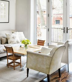 Stylish Kitchen Interior #house @Big House Love #dining_room #white
