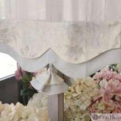 Présentoir bijoux fleuri style shabby chic Clayre /& Eef