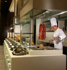 Restaurant Kitchen Stations our buffet station! #sandiego #dining #restaurant #hotel | the