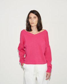 Aalto | Wide V-Neck Sweater | La Garçonne