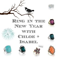 Statement Rings! So much fun! Find yours now! Go to my boutique: www.chloeandisabel.com/boutique/iselleandrade