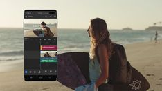 Adobe Premiere Rush for Galaxy, Samsung için Özelleştirildi - TeknoTalk Free Photoshop, Photoshop Actions, Galaxy Tablet, Samsung Galaxy, Mobile Video, Desktop Computers, Video Editing, Adobe, Product Launch