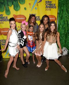 Dance Moms cast at the Kid's Choice Awards 2015