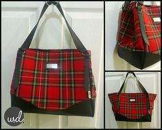 So bare with me, but I'm going to be that person and point out that Christmas is only 56 days away! In celebration, I decided to listen to some festive tunes and make a tartan Charlotte City Tote by Swoon Patterns. Inside there is a clip that cinches the sides and when you need a little more room, undo the clip and voila! Closes with a magnetic snap. Sewn by @ Wendy Dunham.