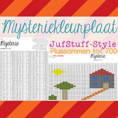 Hoi!! Kinderen (en juf stiekem ook...) vinden het oplossen van mysteriekleurplaten erg leuk. Een mysteriekleurplaat is een kleurplaat waar...