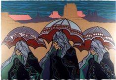 Amado Maurillo Pena Jr. Serigraph - 1982