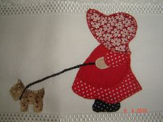 Applique sunbonnet sue.