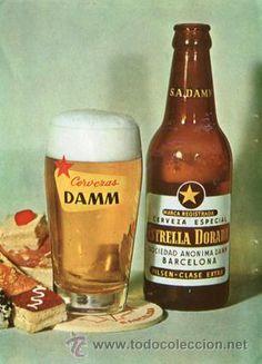Página Publicidad Original *Cerveza DAMM Estrella Dorada · PILSEN* -- Año 1963