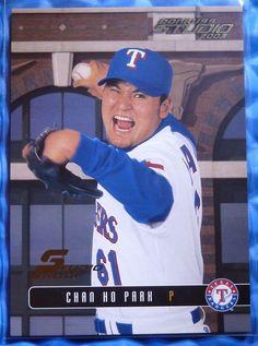 2003 Donruss Studio PROOF #Baseball #CHANHOPARK 84 /100 @Rangers @Dodgers #MLB #NoReserve #TexasRangers