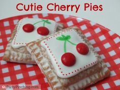Our Cherry Pies get all dressed up with @partypinching .
