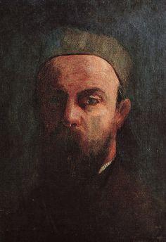 Self Portrait Odilon Redon, 1880. Musée d'Orsay, Paris