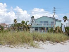 Sunset Beach Gulf Front Sunset View Home. 3BR, 3BA 2 Story Gulf Front View Home with Verandas facing the gulf on both floors. The home is newly decorated, f...