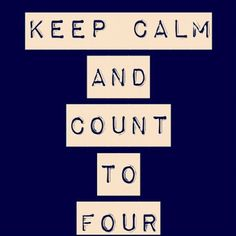 Keep calm and count to four divergent insurgent Tobias Eaton <4