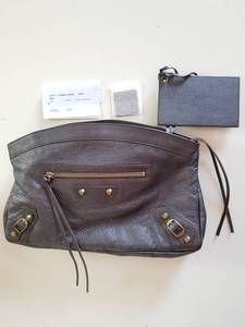 Grab this best deal for Authentic Balenciaga Clutch giant 21 matte  in Cebu. It has gold hardware, unused and comes with dustbag and card. If you are looking for trusted legit bag seller in Philippines you come to the right place. Don't forget to check out the special deals for authentic bags on my facebook and from best online bag shop. Balenciaga Clutch, Balenciaga Designer, Special Deals, Cebu, Designer Bags, Online Bags, Gold Hardware, Philippines, Don't Forget