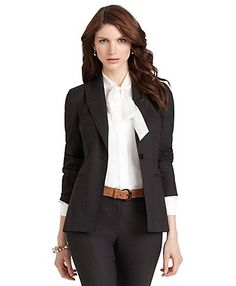 Dressing professionally for an interview not only makes you look good but also helps you feel more confident.