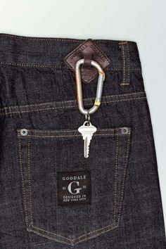Goodale Tailored Skinny Selvedge Denim...now make them in MAN size!