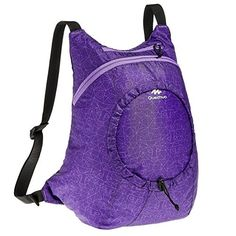 5ad5689b72041 Quechua Arpenaz 15 Ultralight Bags Purple * Details can be found by  clicking on the image. Camping Outdoor Hiking