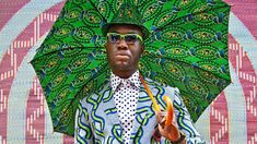 A new show at the Fowler Museum at UCLA explores the ideas of appropriation and ownership of African dress, and how African history and culture is communicated through the printed fabrics.