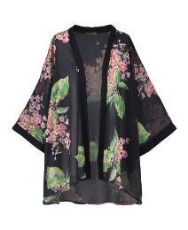 Fever Bahamas Floral Kimono
